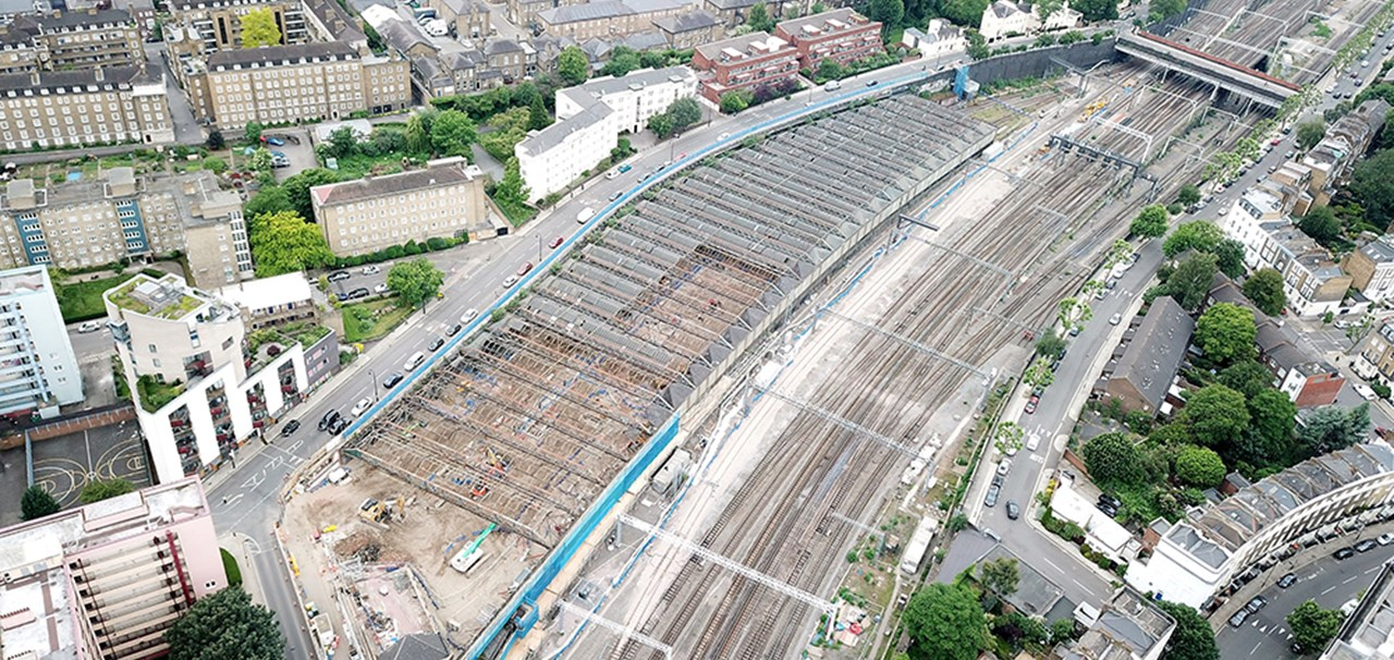 First look at HS2's Euston tunnel portal site as demolitions completed