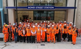 Bond Street station reaches milestone