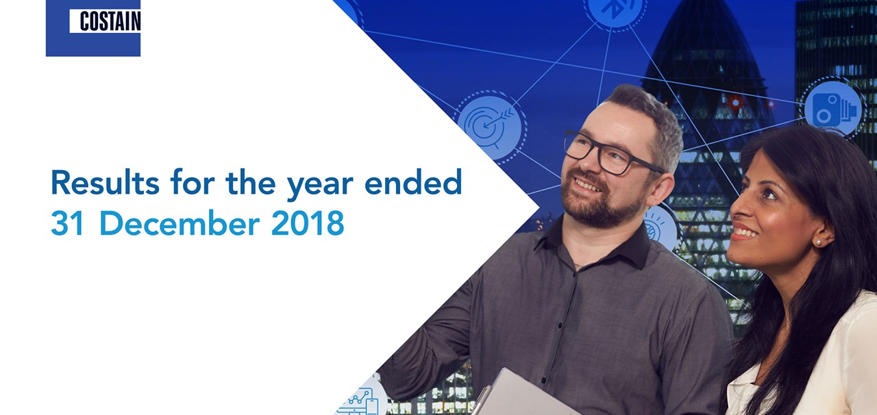 Results for the year ended 31 December 2018