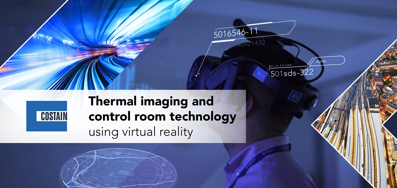 Thermal imaging and control room technology