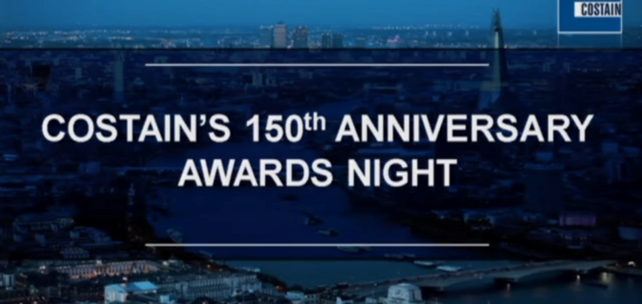 Costain's 150th Anniversary Awards Night