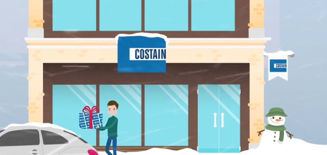 Costain Christmas e-card 2018