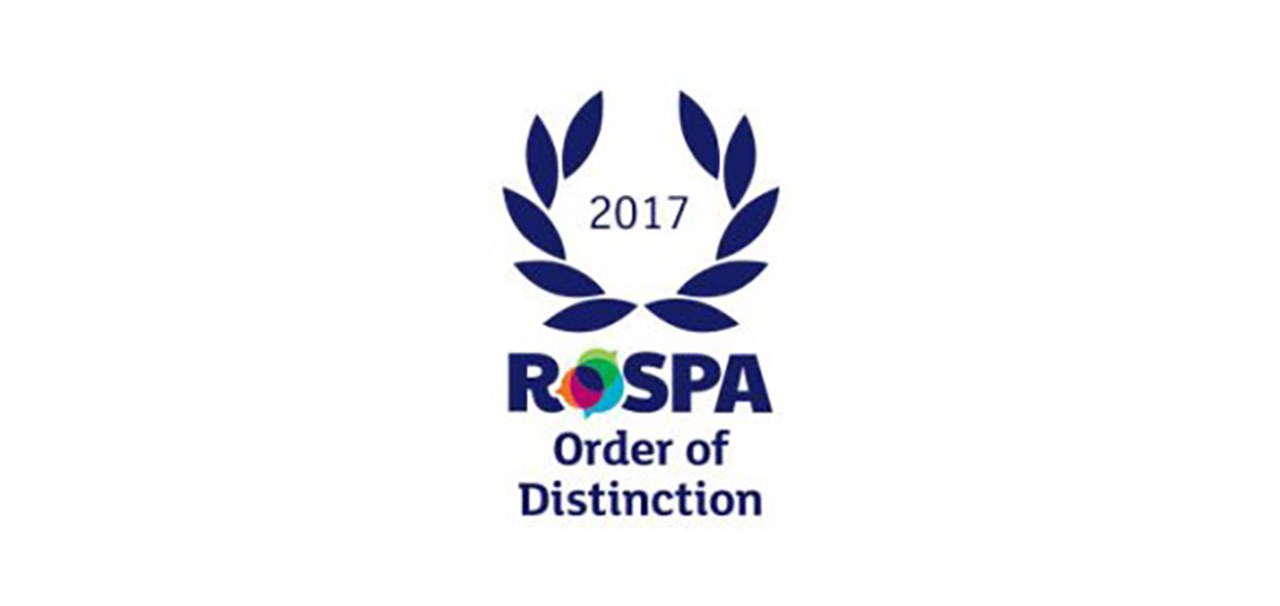 Costain RoSPA Order of Distinction 2017