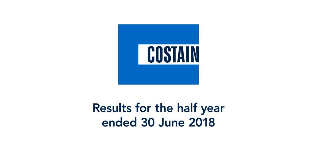 Results for the half year ended 30 June 2018